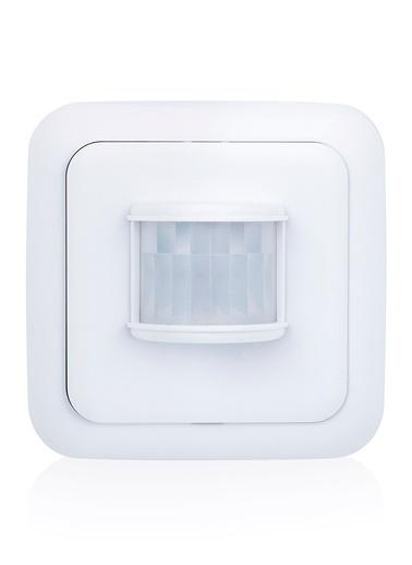 Smartwares Akıllı Ev İç Mekan Kablosuz Pilli Hareket Sensörü Beyaz -Sinyal İletici Renkli